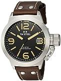 TW Steel Reloj Analógico para Unisex de Cuarzo con Correa en Cuero CS31
