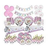 WWDD LWMNBHD - Diadema de regalo para cumpleaños y niña, diseño de cinta de papel para decoración de fiesta de cumpleaños (color: decoración para tartas)