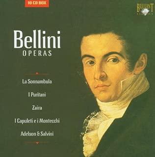 Bellini: Operas - La Sonnambula / I Puritani / Zaira / I Capuleti e i Montecchi