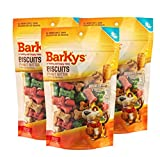 Barkys Biscuits Crema de Cacahuate con Prebióticos, 217 g, 3 Pack