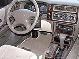 Mitsubishi Montero Sport Interior de Madera del Burl Dash Juego de Acabados Set 2001 2002 2003 2004