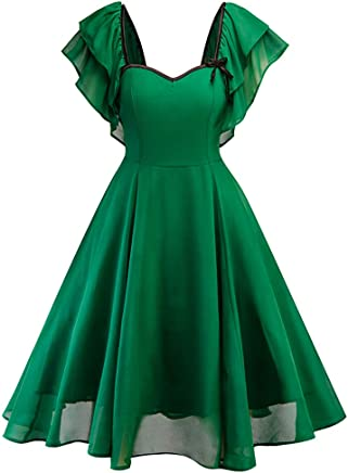 Amazon.com: Elegant Sleeveless Round Neck Sleeveless Knee-Length Empire Bridesmaid Dress Ball Gown Toponly: Appliances