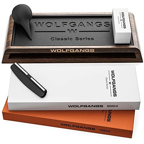WOLFGANGS CLASSICS Premium Schleifstein...