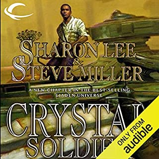 Crystal Soldier audiobook cover art