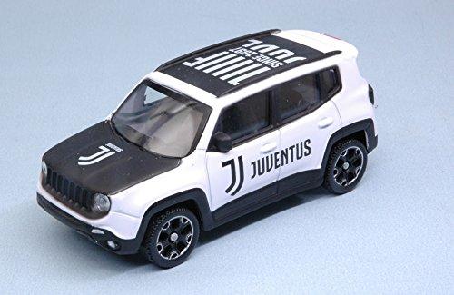 per JEEP RENEGADE JUVENTUS NEW LOGO 1:43 - Mondo Motors - Auto Stradali - Die Cast - Modellino
