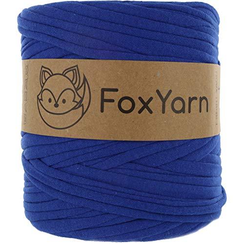 The Fox Yarn Co. - Carretes de 700 g para camiseta, hilo Fettuccini, hilo Trapillo