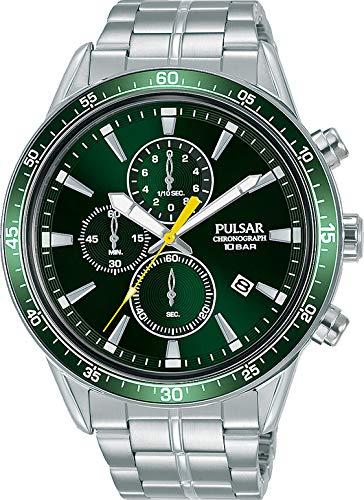 Pulsar Reloj Analógico para Hombre de Cuarzo con Correa en Metal PM3207X1