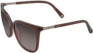 ناين ويست نظارة شمسية للنساء - بني