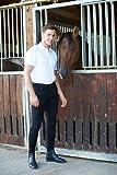 Kerbl Hombre Basic Plus Tamaño Equitación, 44, Hombre, Color Schwarz 52, tamaño 52