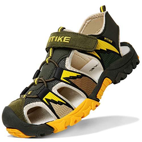 Sandalias para ni/ño Sandalias Deportivas Zapatillas de Trekking y Senderismo Unisex Ni/ños