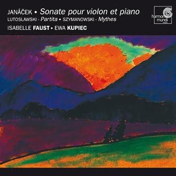 Janacek: Sonata for Violin & Piano