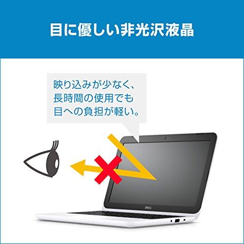 『Dell ノートパソコン Inspiron 11 Celeronモデル ホワイト 17Q11W/Windows10/11.6インチ/2GB/32GB』の4枚目の画像
