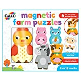 Galt 1105551 Magnetic Farm Puzzles, Mehrfarbig