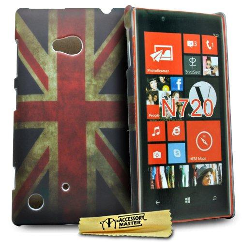 Accessory Master 5055716346640 - Carcasa para Nokia Lumia 720, diseño retro de...
