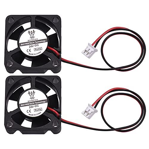 Festnight Piezas de impresora 3D 12V 24V 3010 ventilador de refrigeración 30x30x10mm conector de 2 pines pequeño ventilador sin escobillas