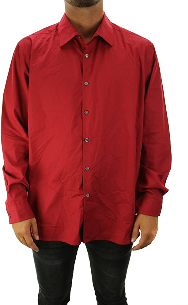 Alfani Mens Cotton Shirt Button-Down Max Selling 58% OFF Colorblock