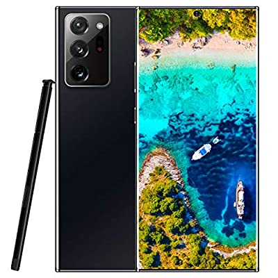 Note20U+ Unlocked Cell Phones with Pen, 6.9 Inch HD 14403088 Screen, 5g Network, 12GB+512GB 18MP+48MP, Face Recognition, 5000mAh Battery, Dual Card, Android 10.0 from Lenevo