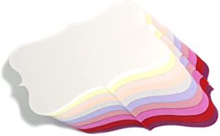 Color Paper Business Cards, Assorted Colors, (100) Paper