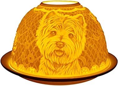 Welink Light-Glow Tealight Candle Holder, Westies Dogs