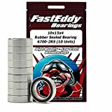Traxxas 5119 Rubber Sealed Replacement Bearing 10x15x4 (10 Units)