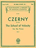School of Velocity, Op. 299: Book 1, Sheet Music