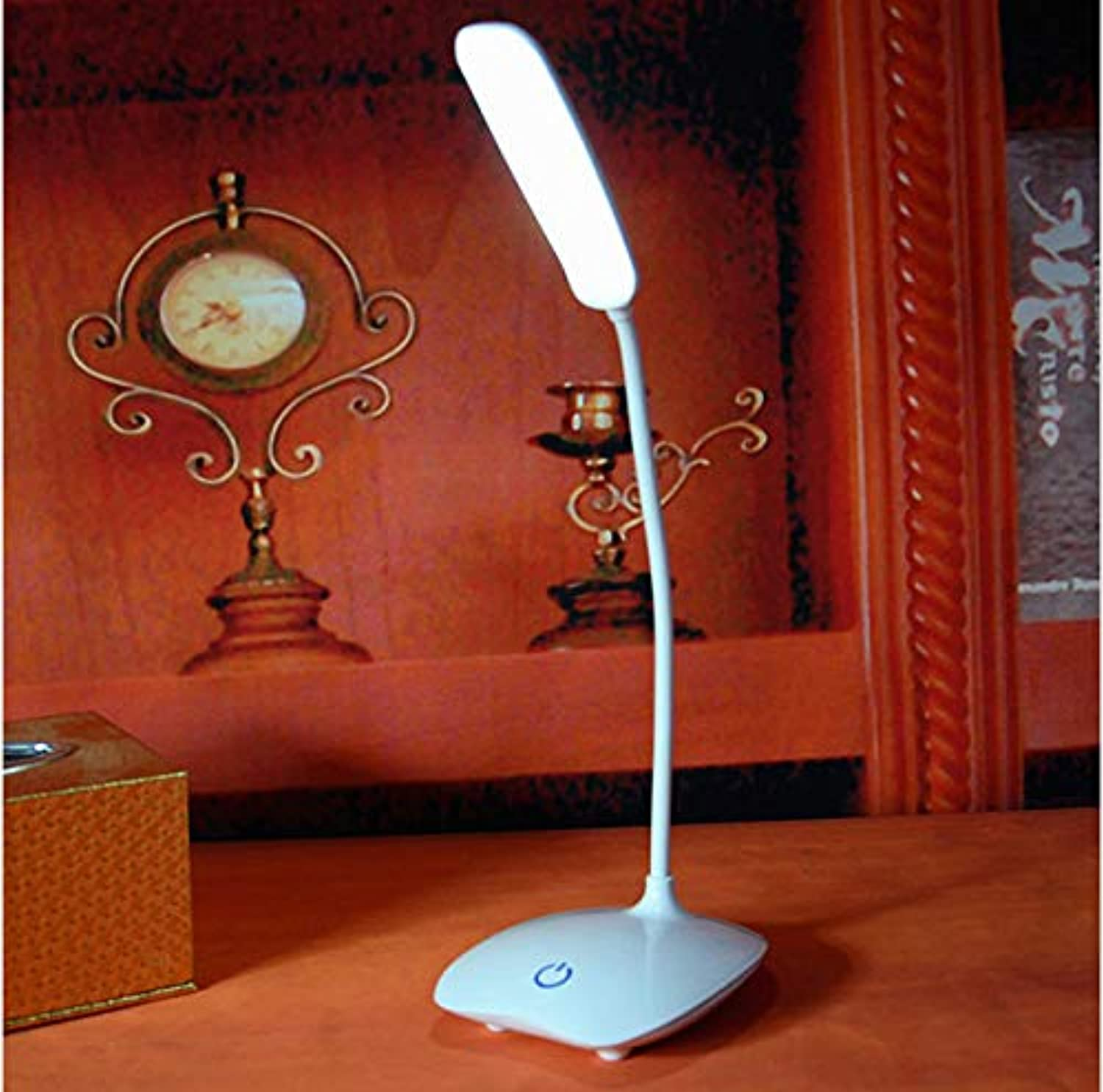 Desk LampsLED USB Rechargeable Desks Adjustable intensity Reading Light Touch Switch