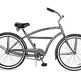 TRACER TAHA 26 inch Beach Cruiser Bike for Men, 26-inch Wheels, Hi-Ten Steel Frame, Hybird Bicycle(26' - Matte Grey)