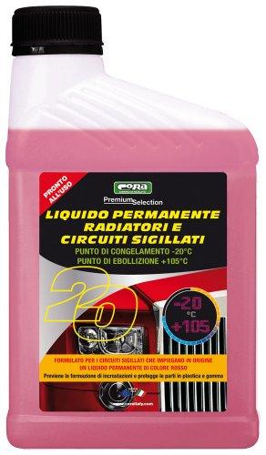 Cora 0020 Liquido Radiatori Auto, -20°C, Rosso