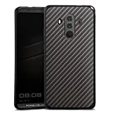 Silikon Hülle kompatibel mit Huawei Mate 10 Porsche Design Case Schutzhülle Carbon Look Muster Geschenk für Männer