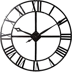 Howard Miller Lacy Wall Clock 625-372 – Oversized Iron Frame with Quartz Movement