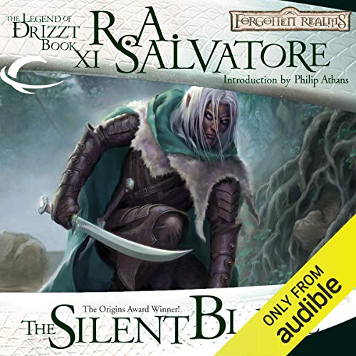 The Silent Blade Audiobook By R. A. Salvatore cover art