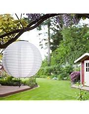 Wenyun 5 stuks solar lampion solar led lampion party tuin lantaarn voor buiten, bruiloft, feest, decoratieve lamp