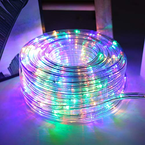 Hengda LED Lichterschlauch 20m 480er LED RGB Lichtschläuche Lichter mit 8 Modi Innen und Außenbereich Lauflichter für Saal, Garten, Weihnachten, Hochzeit, Party