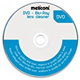 Meliconi, DVD Blu-ray Lens Cleaner, disco per la pulizia dei DVD. Migliora qualità audio e video