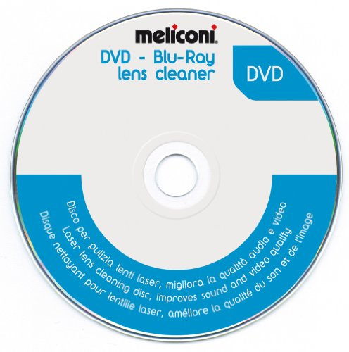 MELICONI DVD Blu-ray lensreiniger Disc 5.1 Audio System Check voor DVD-speler gameconsoles PC DVD