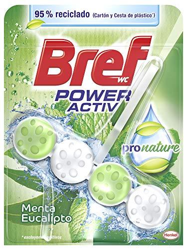 Bref Poder Activo Pronature Menta – 50 ml Colgador WC
