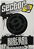 Sector 9 S Flat 1/2' Single Set Skateboard Risers