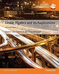 Linear algebra and its applications 5th edition, Linear algebra and its applications global edition