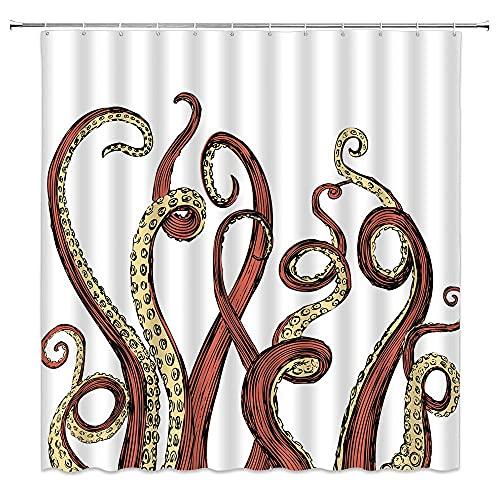 Duschvorhang Nashorn Duschvorhang Für Fenster Shower Curtains for Bathroom Decor 180*180Cm Top Qualität Wasserdicht, Anti-Schimmel-Effekt 3D Digitaldruck Inkl. 12 Duschvorhangringe Für Badezimmer