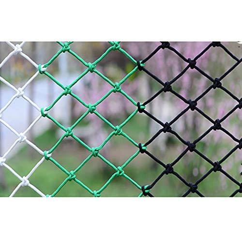 Stasy Red De Escalada para Niños Al Aire Libre,Red De Malla Gigante De Nailon,Red De Seguridad para Niños para Escalada,barandilla De Balcón Interior Barandilla Red De Jardín(Size:3x5M(10X16FT))