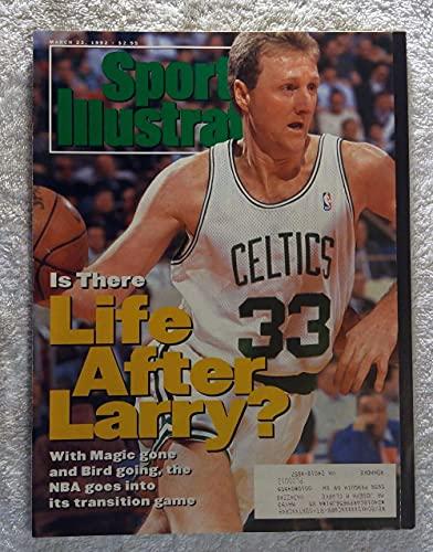 Larry Bird - Boston Celtics - Sports Illustrated - March 23, 1992 - SI