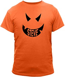 GiftsForYouNow Scary Pumpkin Face Halloween Orange Personalized T-Shirt