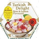 Koska Turkish Delights Rose Lemon 250g (pack Of 3)