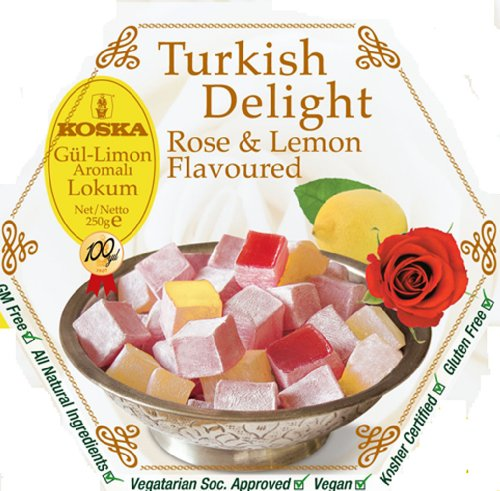 Koska Turkish Delights Rose Lemon 250g (pack Of 3)