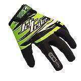 Race Skin PWC Rec Jet Ski Gloves - Green (Large)