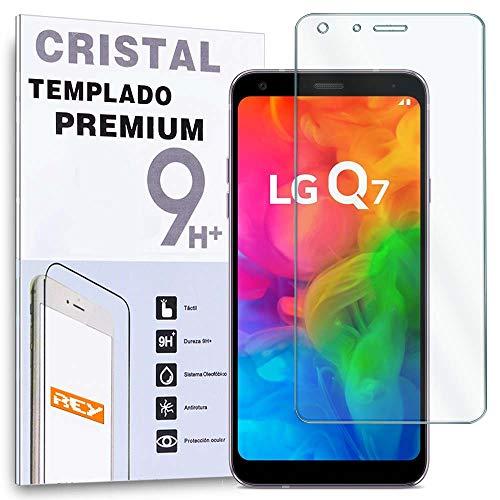 REY Protector de Pantalla para LG Q7, LG Q7 Plus, LG Q7α,...