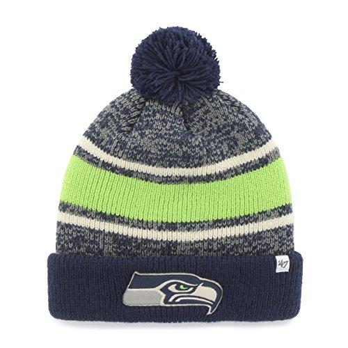 '47 NFL Fairfax (Cuff Knit Hat mit Pom, Unisex, Light Navy