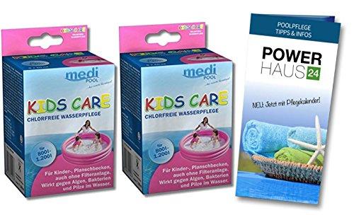 Medipool Kids Care 2 x 250ml, für Plantschbecken, chlorfrei