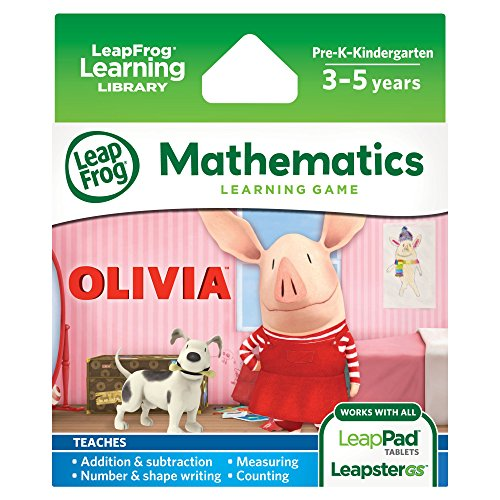LeapFrog Olivia Learning Game (Works with LeapPad Tablets, LeapsterGS, and Leapster Explorer)