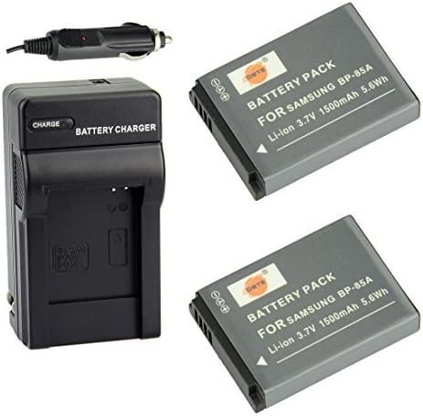 DSTE Replacement All stores are sold for 2X BP-85A Battery Nippon regular agency Car Travel and Cha DC97 +
